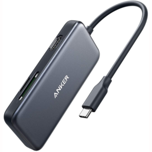 USB-C HUB 5-in-1 HDMI2xUSB3.0SD-TF