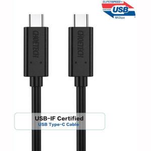 Choetech A3002 USB 3.1 GEN2 Type-C To Type-C